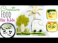 Kinder Food Art leicht gemacht | 5 Simple Creative Food Ideen | #meinetop5