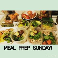 This is what ensures success for my week #mealprepsunday ! Preperation is KEY and is a lifesaver during my busy week!!!!! This only took me 1.5 hours and i will be so relieved during the week when all i have to do is grab and go! If you want help how to meal prep or work towards a healthy lifestyle i can teach you! #askmehow #mealplans #weightloss #weightgain #resultsdriven #passion #healthyactivelifestyle #fitspo #motivate #eatclean #traindirty #trusttheprocess #healthcoach #herbalife…