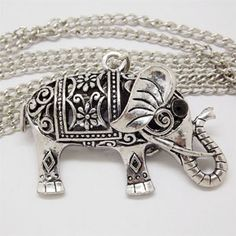 I found this awesome product on HalfOffDeals.com and got 2% off for sharing it! Elephant Retro Necklace - $14 with FREE Shipping! #HalfOffDeals