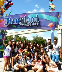 Excursión a Disneyland, Los Angeles