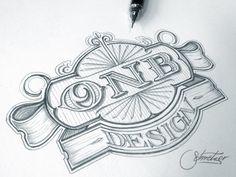 Onb design logo / pinned on toby designs