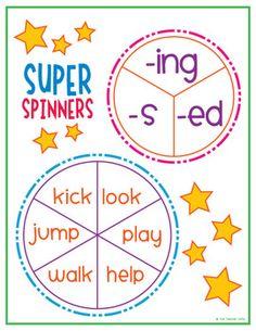 Word Endings Unit (-ed, -ing) - The Teacher Wife - TeachersPayTeachers.com