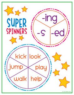 Word Endings Unit (-ed, -ing) - The Teacher Wife - TeachersPayTeachers.com