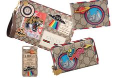 Patches are all the rage right now, and I'm guessing that Gucci went with a tried and tested formula after...