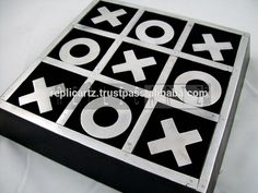 High Quality wooden Tic Tac Toe game