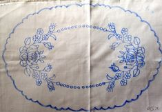 Hungarian Embroidery Patterns Hungarian KALOCSA Stamped Doily Tablecloth for Hand Embroidery Oval Chain Stitch Embroidery, Learn Embroidery, Hand Embroidery Patterns, Embroidery Art, Embroidery Stitches, Hungarian Embroidery, Butterfly Embroidery, Embroidery Techniques, Craft Patterns