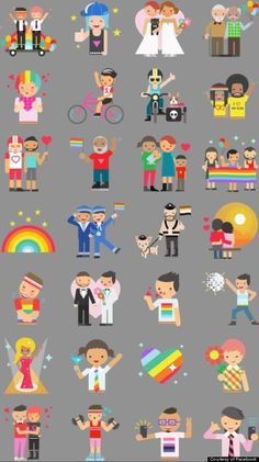 Here's An Awesome Way To Show Your Pride On Facebook With These Emojis #emoji #facebook #pride