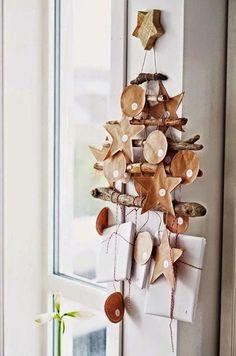 Calendario dell'Avvento in legno, ecco come realizzarlo e personalizzarlo http://www.lafigurina.com/2016/11/tutorial-come-realizzare-un-calendario-dellavvento-fai-da-te/