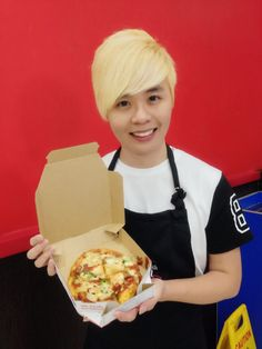 Evilbean's Pizza made with Love