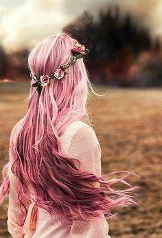 pink,color para el pelo
