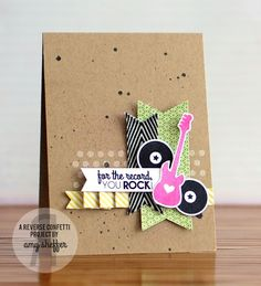 Pickled Paper Designs: For the Record, You Rock!