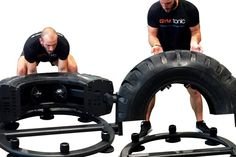 The  TireFlip 180XL is an innovative new functional training device that gives you all the benefits of tire training in a safe, space saving design.