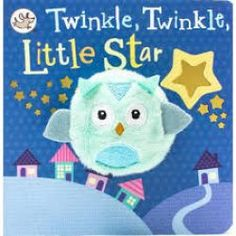 This adorable Finger Puppet board book features a little owl, and the classic rhyme Twinkle Twinkle Little Star! Finger Puppet Books, Finger Puppets, Snoopy Toys, The Chocolate Touch, Dork Diaries, Barrel Of Monkeys, Mo Willems, Finger Plays, Star Wars