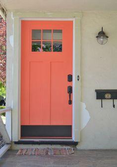 Coral Front Doors On Pinterest Coral Door Front Doors
