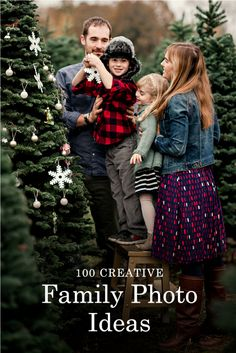 Find 100 fun photo ideas and tips to help your family create a memorable photo Christmas card this holiday season!