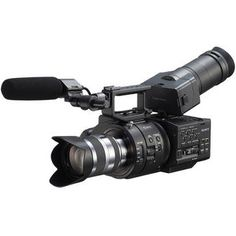 Sony NEX- #FS700 Super 35 Camcorder with 18-200mm Lens.  960fps... I think so!