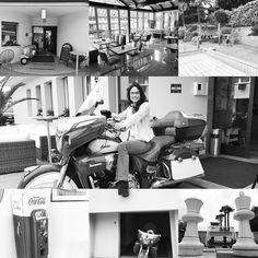 "I like this ""in the fifties"" hotelconcept! #hotel #hotelconcept #thefifties #the #fifties #restaurantconcept #restaurant #friendly #host #vespa #palmtree #swimmingpool #gazstation #indianmotorcycle #indianroadmaster #ticino #vezia #lugano #switzerland #myswitzerland"