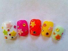 Stars & Gems nails