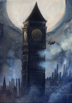 """The Clock Tower, from """"Ticket"""" by Cory Godbey"""