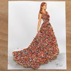 """65k Likes, 524 Comments - EdgaR_ArtiS (@edgar_artis) on Instagram: """"Sugar sprinkles couture  This one was such a challenge  I glued my fingers to each other  Hope…"""""""