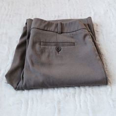 Dark Tan Stretch Dress Pants Nice dress slack with stretch for comfort! Great neutral color, matches with almost any color top. Great condition! Worn just a few times. Mossimo Supply Co. Pants