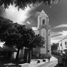 church #lagos #blackandwhite #portugal #algarve