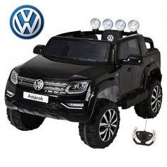 Volkswagen Amarok Kids Large Seat Ride On Jeep Today If you are looking for an amazing kids ride on jeep for the ultimate adventure Vw Amarok, Kids Ride On, Electric Cars, Volkswagen, Jeep, Adventure, Amazing, Leather, Black