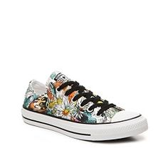 More floral AND Chucks!!! Can't decide!!! Converse Chuck Taylor All Star Floral  Sneaker
