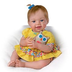 "18"" Lifelike Baby Girl Doll by Waltraud Hanl with Plush Owl by The Ashton-Drake Galleries The Ashton-Drake Galleries http://www.amazon.com/dp/B018EZDE00/ref=cm_sw_r_pi_dp_H78zwb1D7RGS9"