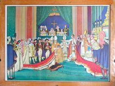 NAPOLEON  Vintage  Affiche scolaire double face par LeRetroMarket