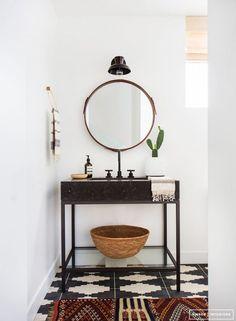In 7 stappen een stoere badkamer - Roomed