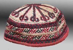 VINTAGE CLOTHING Tekke Turkmen HAT Central by tcEclecticImages