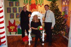 Visit Santa's workshop at the Pink palace
