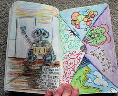 Wreck This Journal - Envelope by Boy_Wonder, via Flickr