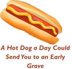 A Hot Dog a Day Could Send You to an Early Grave~  How it's made...
