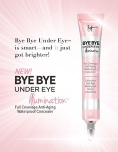 IT's your 8 hours of sleep in the tube! Apply underneath your eyes or all-over as your foundation to visually camouflage imperfections, diffuse the look of lines and wrinkles, and brighten your eye area. Just a small amount goes a long way to give you beautiful, luminous results that last all day! Click to learn more!