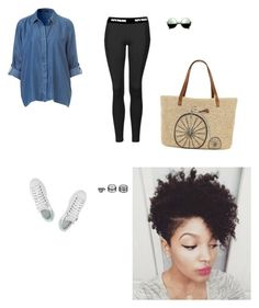 """""""Untitled #345"""" by manoela-santos98 on Polyvore featuring Topshop, adidas, Revo, Straw Studios and Lulu*s"""