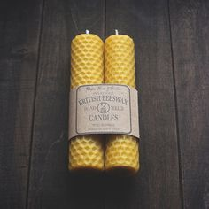 HandRolled Beeswax Candles by UtopiaHomeAndGarden on Etsy, 7.50                                                                                                                                                                                 Plus