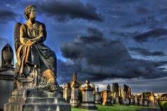 Guardian Angel - Glasgow Necropolis photo by euan_pics