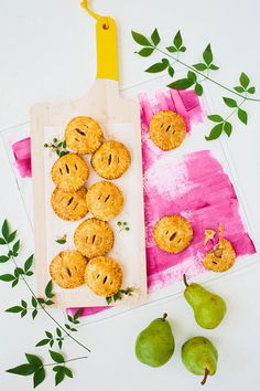 Let's Eat! | Vanilla-Cardamom Pear Hand Pies