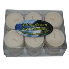 Going Green Soy Candles - Clean Breeze Soy Candle Tealights - One Dozen Richly Scented Tealights by Going Green Soy Candles. $32.76. Set of 12 tea lights totalling 9.3 OZ.. Burn time: Approximately 7 hours each.. Made with Earth-friendly soy wax. Smells just like freshly cleaned laundry. Each candle is made with 100 natural soy wax, cotton lead-free wicks with a natural wax coating and high quality fragrance oils, assuring you receive a cleaner burning, longer ...