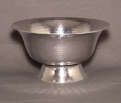 "Show details for Aluminum Revere Bowl Hammered #51423    8""D x 4.5""H"