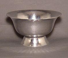 "Show details for Aluminum Revere Bowl Hammered #51423    8""D x 4.5""H"