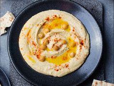 Humusz (csicseriborsókrém) Recept képpel - Mindmegette.hu - Receptek Vegetarian, Ethnic Recipes, Food, Google, Spice, Lemon, Olive Oil, Recipe, Eten