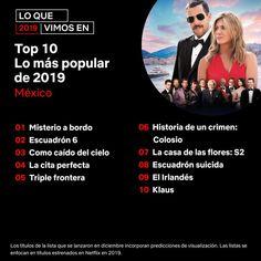 Lo mejor en Netflix México Videos, Popular, Instagram, Movie Posters, Movies, Manga, Perfect Date, Get Well Soon, News
