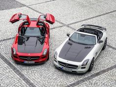 Купе и родстер Mercedes SLS AMG Final Edition / Мерседес SLS AMG Финальный Выпуск