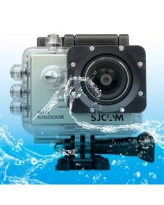 SJCAM SJ5000X WiFi Ultra HD 2K 2.0 inch LCD Sports Camcorder with Waterproof Case, 170 Degrees Wide Angle Lens, 30m Waterproof(Silver)