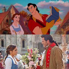 Gaston, you are positively primeval. #disney #beautyandthebeast #beautyandthebeast1991 #beautyandthebeast2017 #belle #beast #emmawatson #danstevens