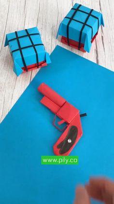 Paper Folding Crafts, Cool Paper Crafts, Paper Crafts Origami, Diy Paper, Paper Art, Diy Crafts Hacks, Diy Home Crafts, Creative Crafts, Instruções Origami