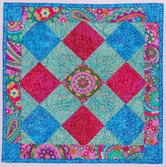(7) Name: 'Quilting : Free'Simply Square-agonals'